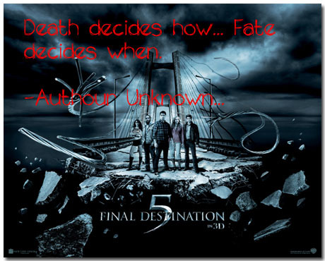 Final Destination 5 Theme With 10 Backgrounds