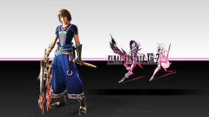 3 New Final Fantasy X 13-2 Wallpapers And Themepack for Windows 7