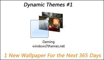 Free Dynamic Windows 7 Themes Part 1 #Gaming