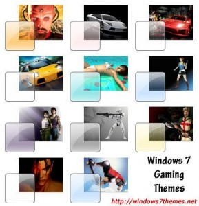 Windows 7 Gaming Themes
