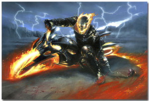 Ghost Rider Theme With 10 Backgrounds