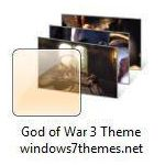 god of war 3 windows 7 theme jpg