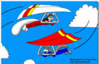 Hang Gliding Theme With 10 Backgrounds