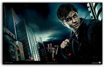 Free Harry Potter And The Deathly Hallows Windows 7 Theme