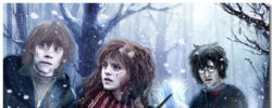 Harry Potter & The Deathly Hallows Theme With 10 Backgrounds