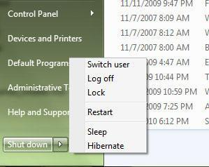 Enable Hibernation in Windows 7