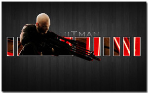 Hitman Theme With 10 Backgrounds