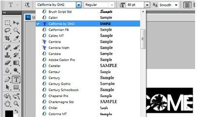 How to add fonts to Photoshop / Windows 7