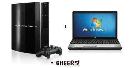 How to connect PS3 to Windows 7