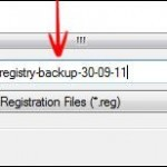 Backup The Windows 8 Registry