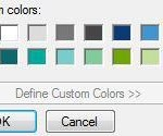 How to change desktop background color in Windows 7?