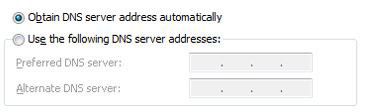 How To Change DNS Server in Windows 7
