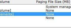 How To Change Swap File Location in Windows 7