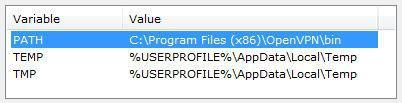 How to change environment variables in Windows 7