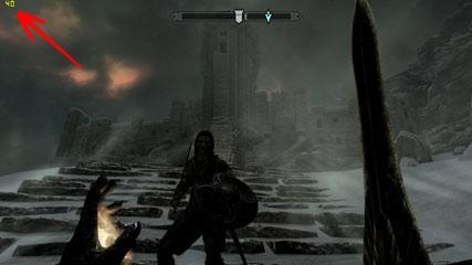 How to check FPS in Skyrim and include FPS framerate on screenshots