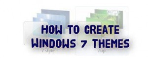 How to create Windows 7 Themes?