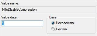 How To Disable Compression in Windows 7
