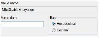 How To Disable Encryption in Windows 7
