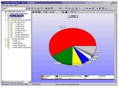 How to find large files in Windows 7?