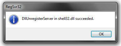 How to unregister DLL in Windows 7