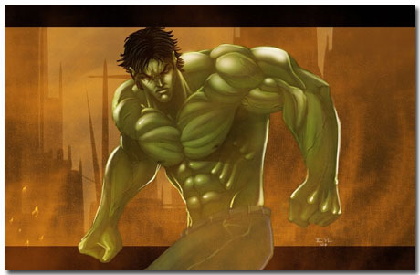 Hulk Theme With 10 Backgrounds