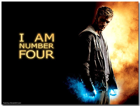 I Am Number Four Theme With 10 Backgrounds