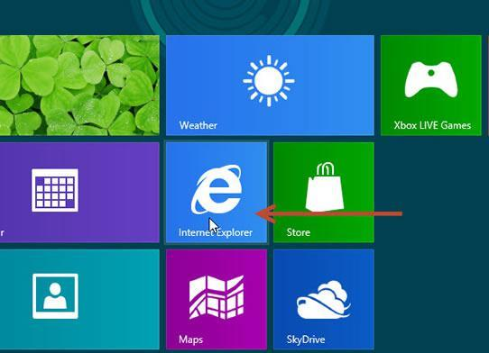How to delete browsing history in Windows 8's IE 10