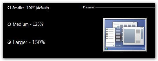 How to increase font size in Windows 7 & Improve accessibility