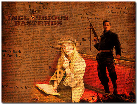 Inglourious Basterds Theme With 10 Backgrounds