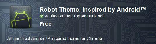How to install Chrome themes