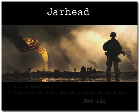 Jarhead Theme With 10 Backgrounds