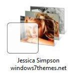 jessica simpson windows 7 theme jpg