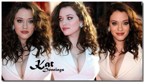 Kat Dennings Wallpaper Theme With 10 Backgrounds