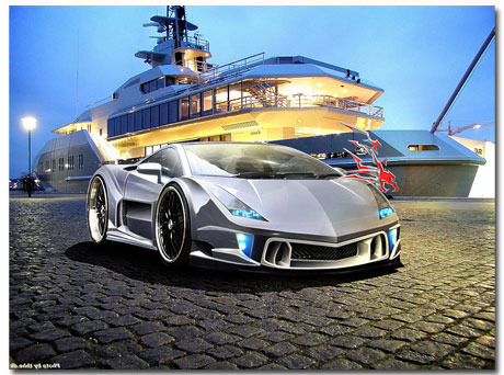 Lamborghini Gallardo Theme With 10 Backgrounds