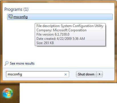 How to disable the Windows 7 sidebar?