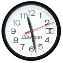 Hip Custom Retro Clock For Your Windows 7 Desktop With Stylish Glass Effects