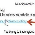 Scheduled tasks: Change maintenance settings in Windows 8