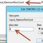 MaximumRowCount: Change the number of App rows in Windows 8 Metro Start Screen