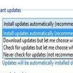 How to enable or disable automatic updates in Windows 8