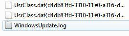 Where is the Windows update log in Windows 7