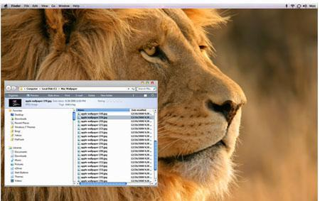 Mac OS X Lion Windows 7 Theme