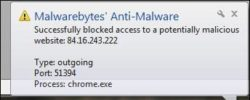 How to stop Malwarebytes from blocking websites