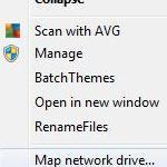 Quick Access: How to create mapped network drive in Windows 7