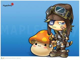 MapleStory Windows 7 Theme