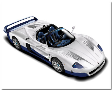 Maserati Mc12 Theme With 10 Backgrounds