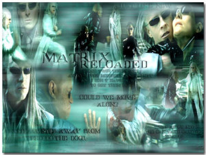 Matrix Reloaded Theme With 10 Backgrounds