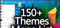 Mega List Of 150 Free Windows 7 Themes For Your PC