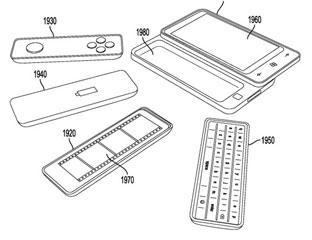 Microsoft Patent Reveals Phone With Modular Design (Gamepad, Keyboard, Display)