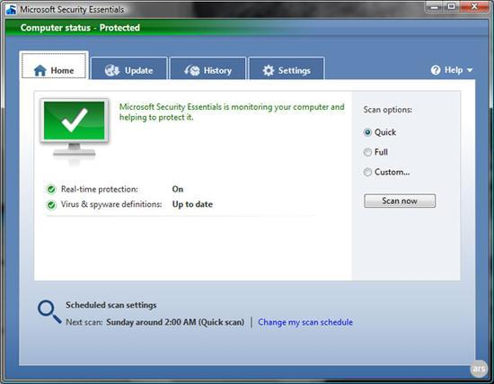 Windows security: Using and configuring Microsoft Security Essentials for maximum protection