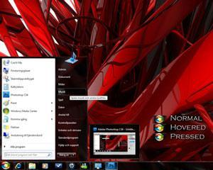 10 Pretty Awesome Windows 7 Themes [Futuristic Shell Themes ]